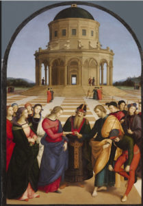 "Raphael ""The Wedding of the Virgin"""