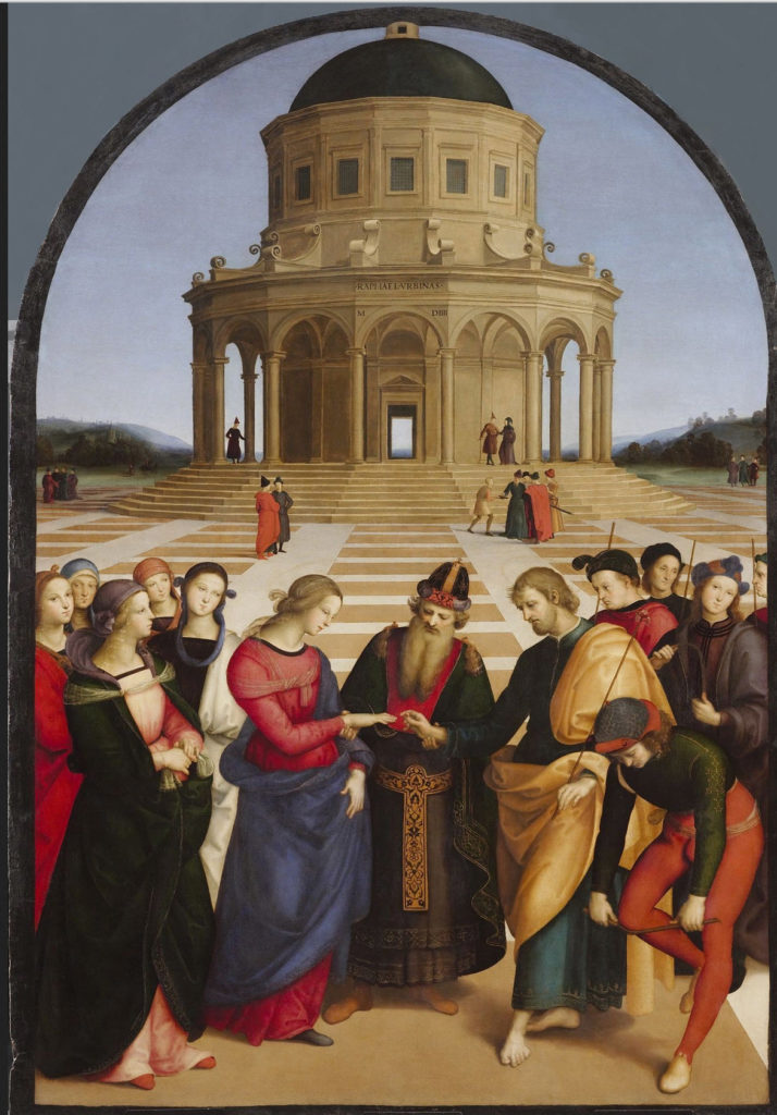"Raphael ""The Wedding of the Virgin"""